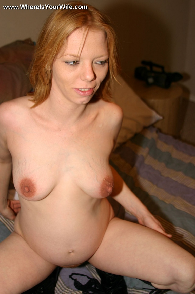 naked hot sexy redhead wife