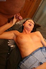 tiny tits anal play