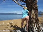 curvy exhibitionist barby from