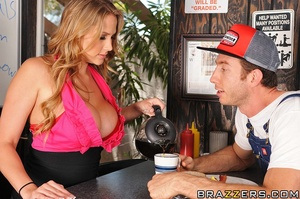 Alanah is a waitress at a truck stop. Sh - XXX Dessert - Picture 6