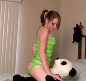 Pigtail teenie Riley Rebel gets frisky with her&hellip;