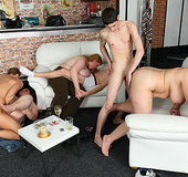 The party babes are horny for some good fucking&hellip;