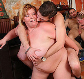 The BBW got drunk and now she's getting fucked in&hellip;