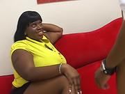 fat black babe built