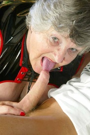 cum-on-tits grandma libby from