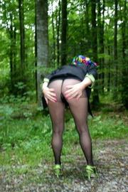striptease flashing german isabel