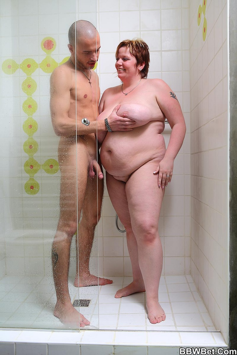 Visible, not Thick naked girls shower think