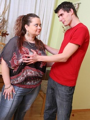 She is his little BBW beauty and she makes sure that his - Picture 3