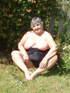 Granny Grandma Libby from United Kingdom Too Hot To Keep Your Clothes