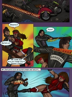 Bodacious superheroines are always ready to spread - Picture 5