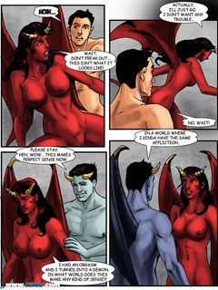 Their passion turned them into a demon and demoness - Picture 3