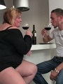 The fat girl has him aroused like he - Picture 3