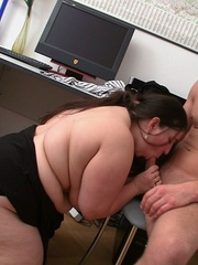 She's a hot piece of beautiful BBW ass and she gets - Picture 10