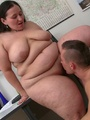 Their plumper foreplay gets wild so they - Picture 14