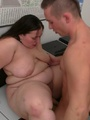 Their plumper foreplay gets wild so they - Picture 15