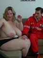 The horny BBW lets the car mechanic take - Picture 6