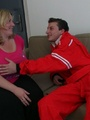 She likes the way this slender young guy - Picture 2