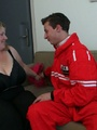 She likes the way this slender young guy - Picture 3