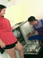 The dishwasher repair guy can fix her issues in the - Picture 2