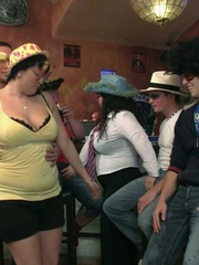 The drunken fat chicks get this party started by - Picture 4