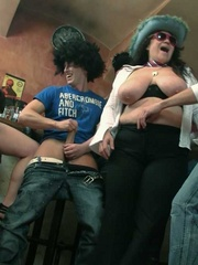The drunken fat chicks get this party started by - Picture 12