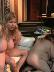The party is a great place for getting laid and the fat - Picture 13