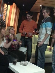 They are drinking and dancing at the great party and the - Picture 2