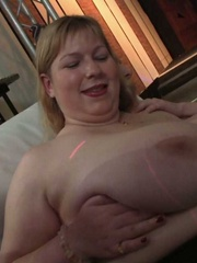 The BBW party shows the ladies stripping, sucking, and - Picture 1