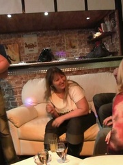 After the drunken fat chick gives him a blowjob he puts - Picture 5