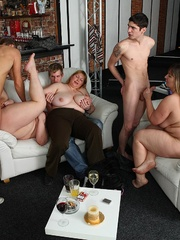 Hot BBW party girls are drunk and letting the young guys - Picture 9