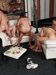 Hot BBW party girls are drunk and letting the young guys - Picture 14