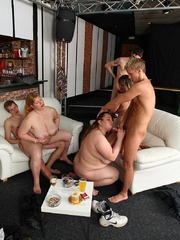 Hot BBW party girls are drunk and letting the young guys - Picture 15