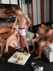 After fucking a drunken fat girl at a party he shoots - Picture 6