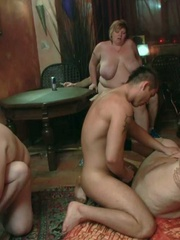 The incredible BBW group sex has three ladies and three - Picture 15