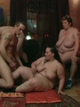 BBW party babes get drunk at the bar and - Picture 9