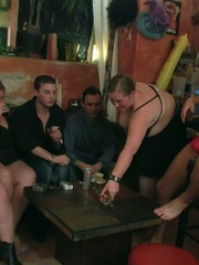 The girls came to the bar to drink and now they're - Picture 5