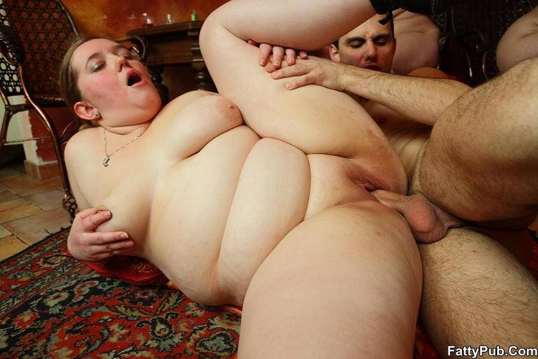 Порно фото анал столстушками