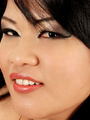 Plump Asian Sunny shows her thick legs - Picture 10