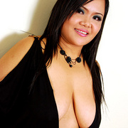 Horny chubby Asian Aum has fun showing her ass - Picture 3