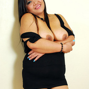 Horny chubby Asian Aum has fun showing her ass - Picture 7