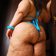 BBW Cassie showcases her big fat ass - Picture 14