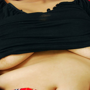 Full figured Asian girl with big heavy tits - Picture 5