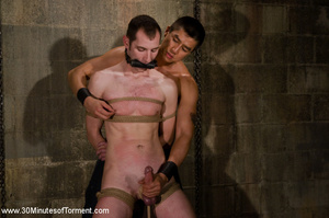 This guy gets hardcore leashed and punis - XXX Dessert - Picture 12