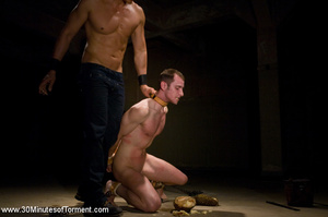 This guy gets hardcore leashed and punis - XXX Dessert - Picture 13