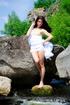 Hot black haired beauty exposing her stunning body…