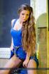 Randy blue-eyed blonde exposing her stunning body…