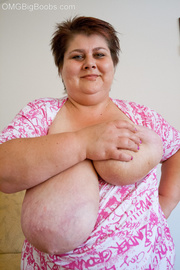 short-haired bbw funny blouse