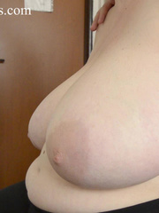 Blonde bitch with huge titties gets them grabbed and bit - Picture 8