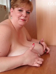 Blonde bitch with huge titties gets them grabbed and bit - Picture 15