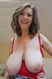 sexy brunette mature red